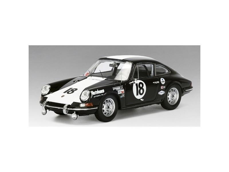TSM MODEL MODELLINO AUTO 1:43 PORSCHE 911 n.18 CLASS WINNER 24H DAYTONA 1966 1ST 911 TO WIN A ROAD RACE IN THE WORLD