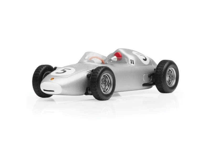TSM MODEL MODELLINO AUTO 1:43 PORSCHE 718 n.5 HANS HERRMANN 2ND SOLITUDE GRAND PRIX 1960
