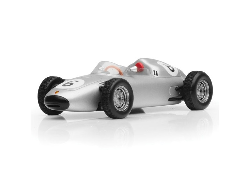 TSM MODEL MODELLINO AUTO 1:43 PORSCHE 718 n.6 GRAHAM HILL 4TH SOLITUDE GRAND PRIX 1960