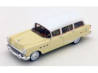 TSM MODEL MODELLINO AUTO 1:43 BUICK CENTURY ESTATE WAGON TAN & WHITE 1954