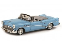 TSM MODEL MODELLINO AUTO 1:43 BUICK CENTURY 2 DOORS CONVERTIBLE MALIBU BLUE 1954