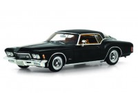 TSM MODEL MODELLINO AUTO 1:43 BUICK RIVIERA REGAL BLACK 1971