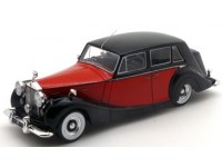 TSM MODEL MODELLINO AUTO 1:43 ROLLS ROYCE SILVER WRAITH ROYAL RED & BLACK 1952