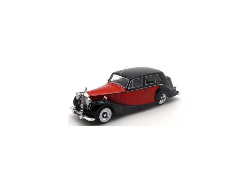 TSM MODEL MODELLINO AUTO 1:43 ROLLS ROYCE SILVER WRAITH ROYAL RED & BLACK 1952