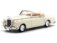 TSM MODEL MODELLINO AUTO 1:43 ROLLS ROYCE SILVER CLOUD I 1959 TWO SEATER DROPHEAD JAMES YOUNG CREAM