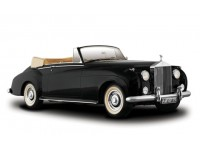 TSM MODEL MODELLINO AUTO 1:43 ROLLS ROYCE SILVER CLOUD II 1961 DROPHEAD BLACK
