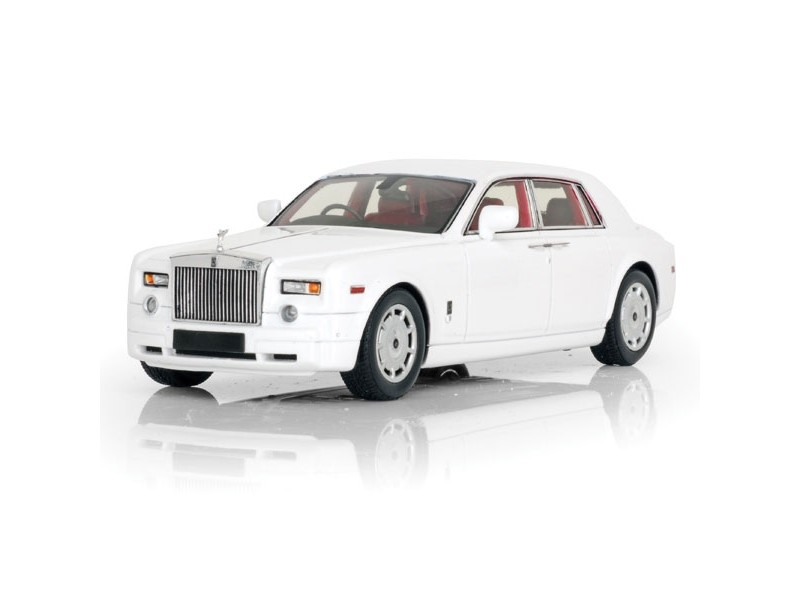 TSM MODEL MODELLINO AUTO 1:43 ROLLS ROYCE PHANTOM SEDAN 2009 ENGLISH WHITE