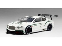 TSM MODEL MODELLINO AUTO 1:18 BENTLEY CONTINENTAL GT3 MONDIAL DE L'AUTOMOBILE 2012