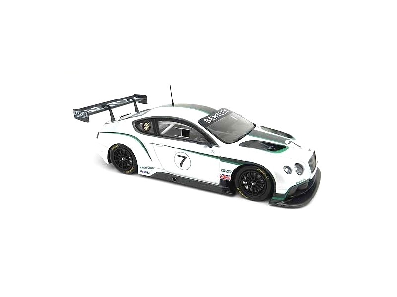 TSM MODEL MODELLINO AUTO 1:43 BENTLEY CONTINENTAL GT3 GOODWOOD FESTIVAL OF SPEED 2013