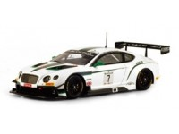 TSM MODEL MODELLINO AUTO 1:43 BENTLEY GT3 n.7 BLANCPAIN GT TOTAL 24H SPA 2014