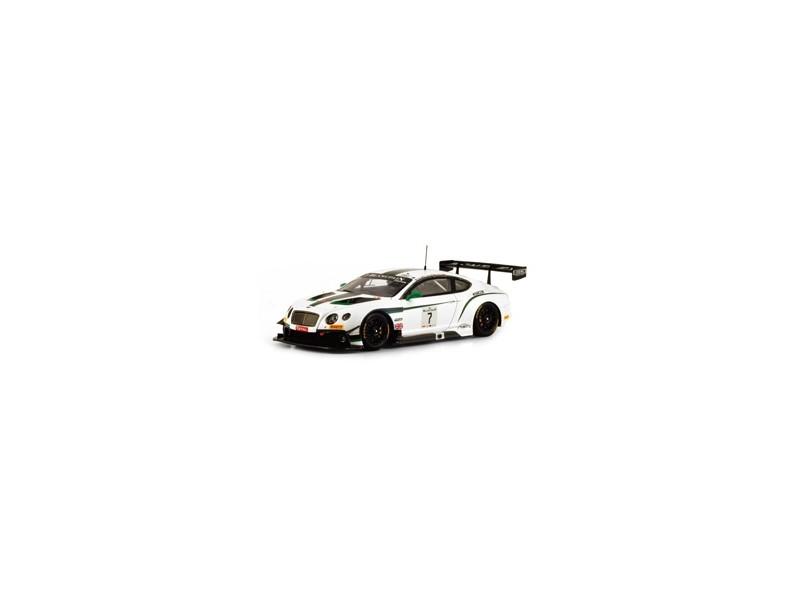 TSM MODEL MODELLINO AUTO 1:43 BENTLEY GT3 n.7 BLANCPAIN GT TOTAL 24H SPA 2014