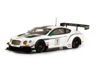 TSM MODEL MODELLINO AUTO 1:43 BENTLEY GT3 n.7 BLANCPAIN GT WINNER PAUL RICARD 2014