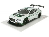 TSM MODEL MODELLINO AUTO 1:18 BENTLEY CONTINENTAL GT3 GOODWOOD FESTIVAL OF SPEED 2013