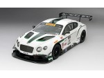 TSM MODEL MODELLINO AUTO 1:18 BENTLEY GT3 n.08 DYSON RACING 3RD PLACE SONOMA GP 2014