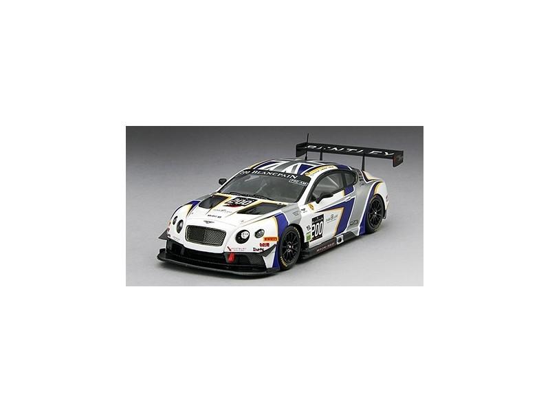 TSM MODEL MODELLINO AUTO 1:43 BENTLEY GT3 n.200 BRITISH GT GENERATION 2014