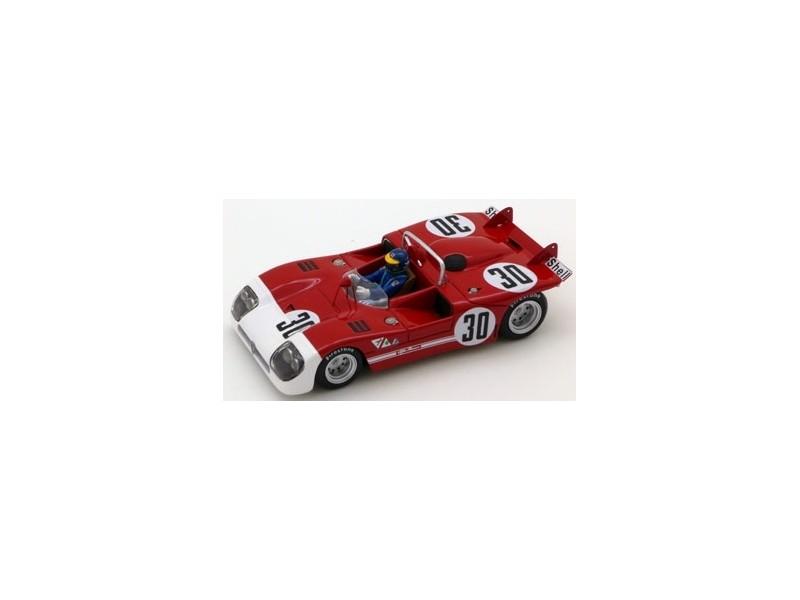 TSM MODEL MODELLINO AUTO 1:43 ALFA ROMEO TIPO 33/3 n.30 R. PETERSON WINNER 6H WATKINS GLEN 1971