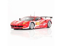 TSM MODEL MODELLINO AUTO 1:43 FERRARI 458 ITALIA GTE AM N.58 TEAM LUXURY RACING 24H LE MANS 2012 FUJIMI