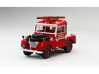 TSM MODEL MODELLINO AUTO 1:43 LAND ROVER SERIE I 88 FIRE APPLIANCE