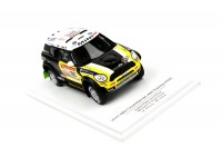 TSM MODEL MODELLINO AUTO 1:43 MINI COUNTRYMAN n.305 ALL4 RACING 2ND PLACE DAKAR RALLY 2012