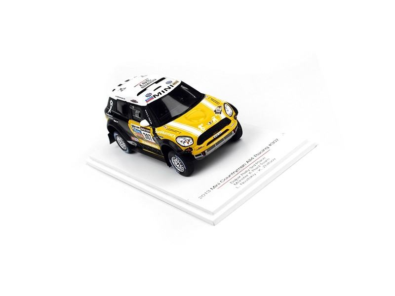 TSM MODEL MODELLINO AUTO 1:43 MINI COUNTRYMAN n.307 ALL4 RACING 3RD PLACE DAKAR RALLY 2013