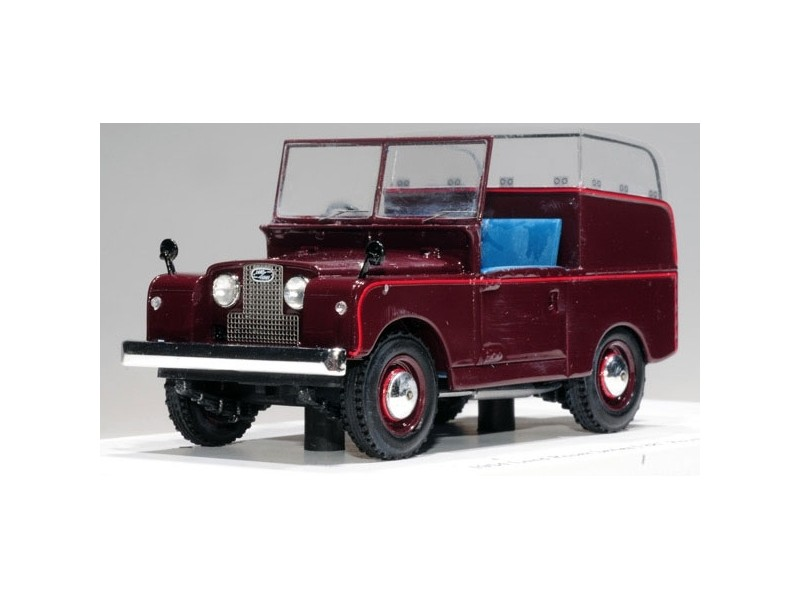 TSM MODEL MODELLINO AUTO 1:43 LAND ROVER SERIES I 88 ROYAL REVIEW