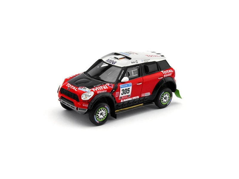 TSM MODEL MODELLINO AUTO 1:43 MINI MONSTER n.305 DAKAR RALLY 2011