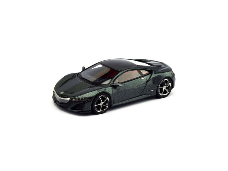 TSM MODEL MODELLINO AUTO 1:43 ACURA NSX II DARK GREY METALLIC 2013