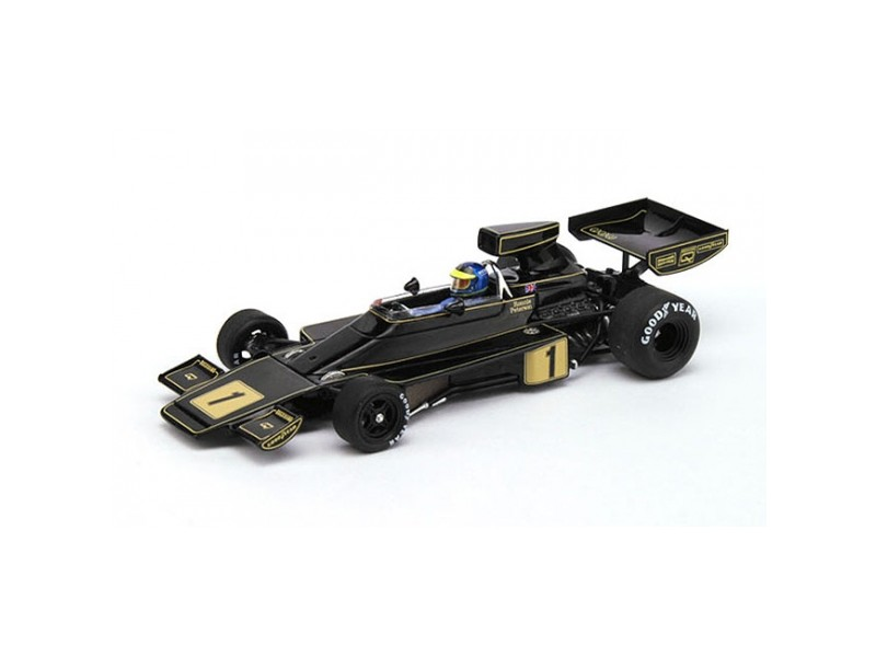TSM MODEL MODELLINO AUTO 1:43 LOTUS 76 JPS n.1 R. PETERSON GP GERMANY 1974