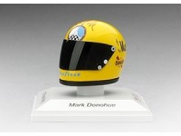TSM MODEL MODELLINO 1:8 CASCO HELMET MARK DONOHUE 1973 PENSKE RACING