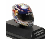 MINICHAMPS MODELLINO 1:8 CASCO HELMET ARAI VETTEL GP MONACO 2011 WORLD CHAMPION 2011