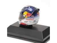MINICHAMPS MODELLINO 1:8 CASCO HELMET ARAI VETTEL GP SUZUKA 2011 WORLD CHAMPION 2011