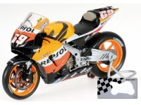 MINICHAMPS MODELLINO MOTO 1:12 HONDA RC211V N. HAYDEN WORLD CHAMPION 2006