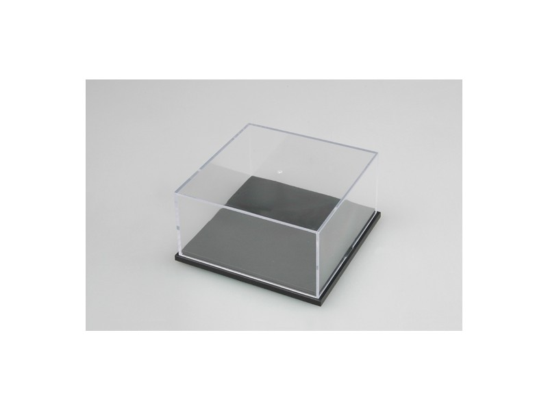 TRUMPETER VETRINA MODELLISMO 117x117x52 mm IN PLASTICA
