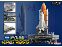 DRAGON MODELLINO 1:400 SPACE SHUTTLE ATLANTIS WITH CRAWLER TRANSPORTER