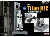 DRAGON MODELLINO 1:400 NASA TITAN III C WITH LAUNCH PAD