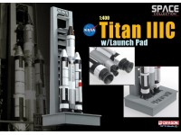 DRAGON MODELLINO 1:400 NASA TITAN III C WITH LAUNCH PAD