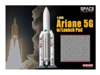 DRAGON MODELLINO 1:400 ARIANE 5G WITH LAUNCH PAD