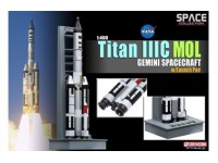 DRAGON MODELLINO 1:400 TITAN III C MOL GEMINI SPACECRAFT WITH LAUNCH PAD