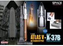 DRAGON MODELLINO 1:400 NASA ATLAS V WITH LAUNCH PAD + X-37B VEHICLE