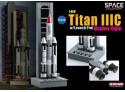 DRAGON MODELLINO 1:400 TITAN III C WITH LAUNCH PAD MAIDEN FLIGHT