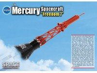DRAGON MODELLINO 1:72 MERCURY SPACECRAFT FREEDOM 7 NASA