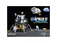 DRAGON MODELLINO 1:72 NASA APOLLO 12 LUNAR LANDING CSM + LM + SURVEYOR 3 + ASTRONAUT