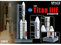 DRAGON MODELLINO 1:400 SPACE TITAN III E WITH LAUNCH PAD