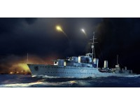 MODELLISMO TRUMPETER KIT NAVE HMS ZULU DESTROYER 1941 1/350