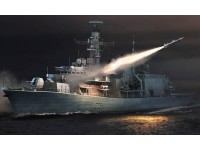 MODELLISMO TRUMPETER KIT NAVE HMS TYPE 23 FRIGATE MONMOUTH F235 1/350