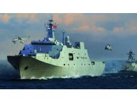 MODELLISMO TRUMPETER KIT NAVE PLA NAVY TYPE 071 AMPHIBIOUS TRANSPORT DOCK 1/350