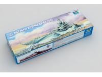 MODELLISMO TRUMPETER KIT NAVE USS WEST VIRGINIA BB-48 1945 1/700