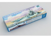 MODELLISMO TRUMPETER KIT NAVE USS WEST VIRGINIA BB-48 1945 1/700