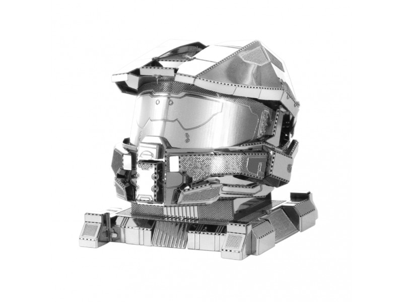 METAL EARTH HALO MASTER CHIEF HELMET KIT IN METALLO 3D