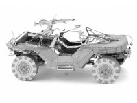 METAL EARTH HALO UNSC WARTHOG KIT IN METALLO 3D
